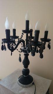 Dekorative Stehlampe aus Glas von