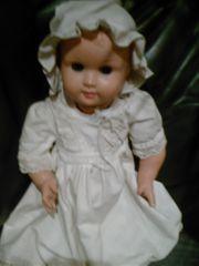 alte antike Puppe Spielzeug