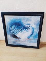 Bild Wandbild Herz