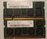 DDR 2 RAM 2x1 GB