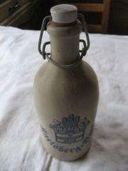 Karlsberg Bock Tonflasche Steingutflasche 0