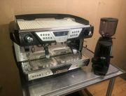 Siebträger Kaffeemaschine Astoria Kaffeemühle