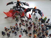 Playmobil Drachen und viele Figuren