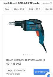 Bosch trockenbauschrauber
