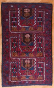 Belutsch handgenüpfter Teppich