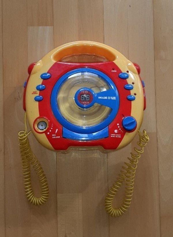 Kinder CD Player mit Mikrofonen