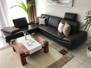 Leder-Eck-Couch
