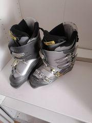 Skischuhe Silber