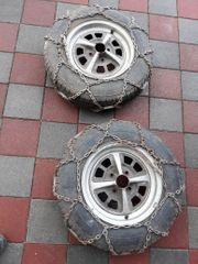 2 Schneeketten für Reifengrösse 165
