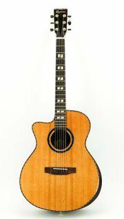 Keytone Premium S80L Westerngitarre Cutaway