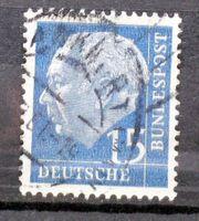 Briefmarken BRD 1960 Heuss II