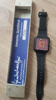 Hundertwasser Uhr - aus meiner Sammlung