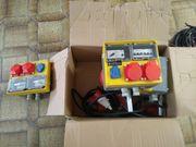 Stromverteilung Stromverteiler 400V 230V Fabr