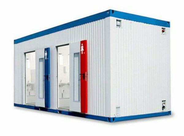 Sanitärcontainer Toilettencontainer Neu sofort verfügbar