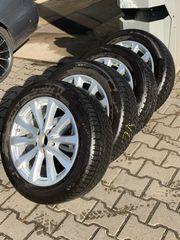 Winterreifen mit Mercedes Original Alufelgen