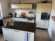IKEA Küche elfenbeinweiß schöne Kochinsel