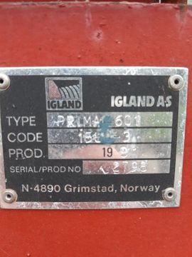 Traktoren, Landwirtschaftliche Fahrzeuge - Seilwinde Igland 4601