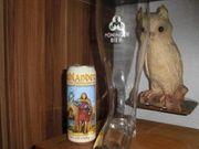 Brauerei Bierstiefel Moninger Bier Zwei