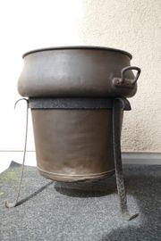 kupferner Waschkessel