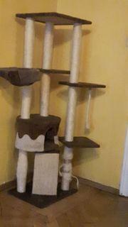 Gebrauchter Katzen-Kratzbaum gegen Abholung zu