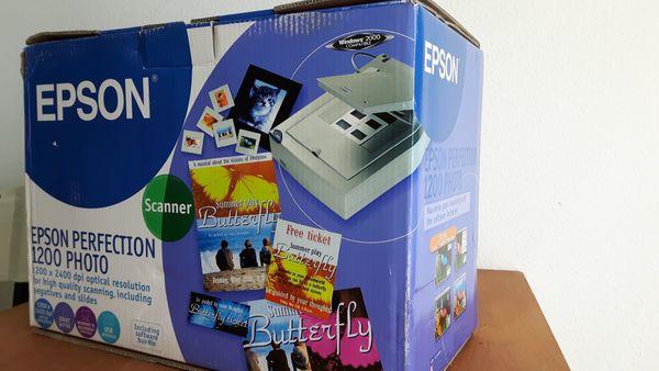 Scanner Epson Perfection 1200 Photo