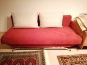 Sofa rot Schlafcouch Bettcouch Schlafsofa