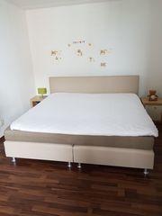 Bett Hochwertig Boxspringbett matratze auflage