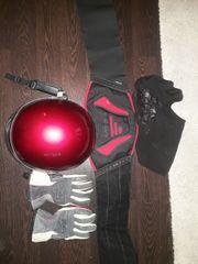 Im Set Handschuhe Helm XL