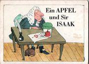 Ein Apfel und Sir Isaak