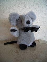 Plüschtier- Kuscheltier Maus