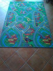 Spielteppich Teppich zum Spielen - Straßenmotiv