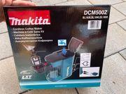 DCM500z Akku Kaffeemaschine Makita