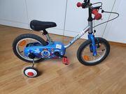 Kinderfahrrad 14 mit abnehmbare Stützräder