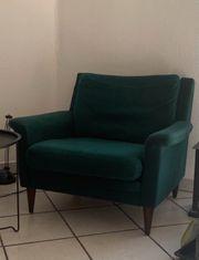 2 Grüne Sessel