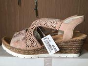 Rieker neu Damenschuhe Sandalen Sandaletten
