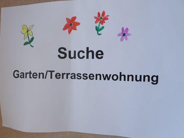 Suche zum Kauf Gartenwohnung München