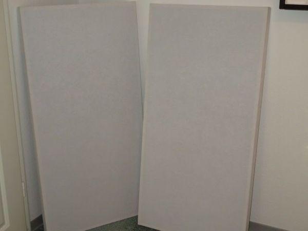Sonitus Akustik-Absorber-Panel 2x in weiß