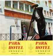 Park Hotel Venezia Reklame Broschüre