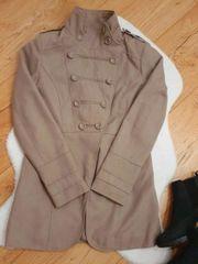 Übergangsjacke Jacke Gr 36 Beige