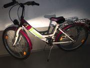 TAUSCHE Mädchen Fahrrad 24 Zoll