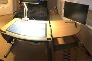 Schreibtisch Set Buche