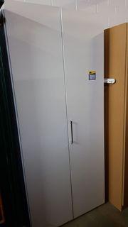 Kleiderschrank weiß 90 x 207