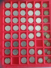 1 DM Münzen von 1977