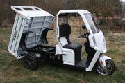 Elektrofahrzeug Lasten - Trike - E-Kipper - TOP