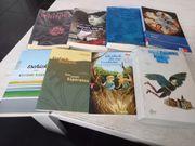13 Schulbücher zu verkaufen