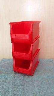 Aufbewahrungs - Box in rot 3