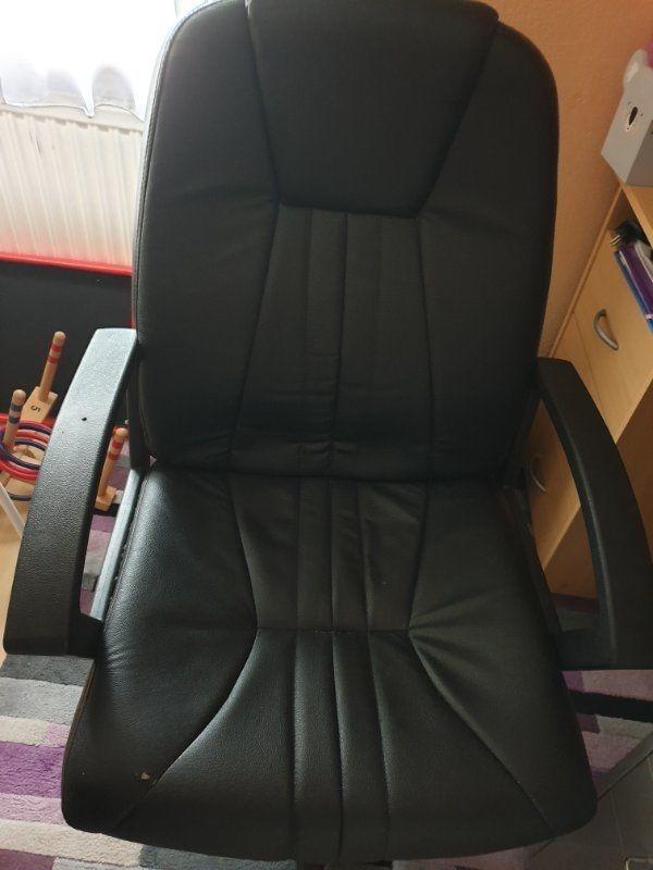 Schreibtisch-Sessel schwarz