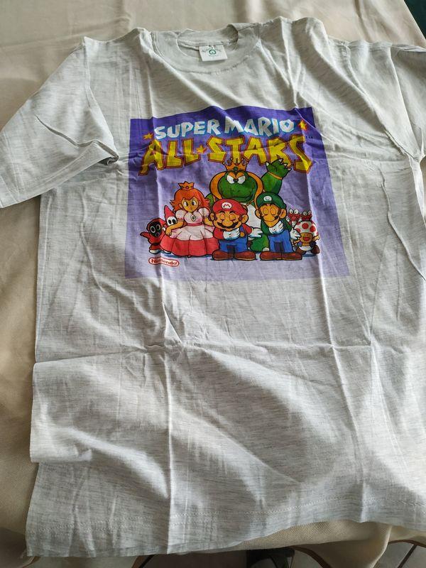 Super Mario All-Starr T-Shirt