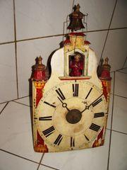 Automatenuhr Glockenzieher 1840-80 Schwarzwald