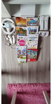 Nintendo Wii Spielekonsole incl Spiele